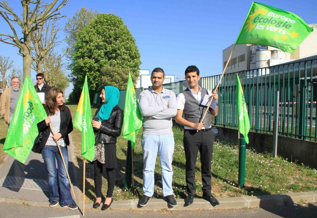 Photo Manifestation Vaujours Usine