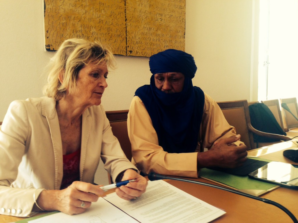 Conférence de Presse au Niger
